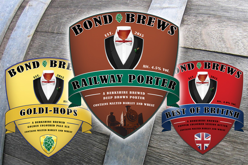 Bond Brews, a new brewery for Wokingham.