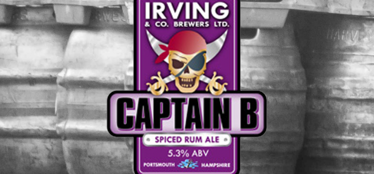 Bracknell Beer Festival favourite Captain B from Irving & Co. Brewers in Portsmouth.