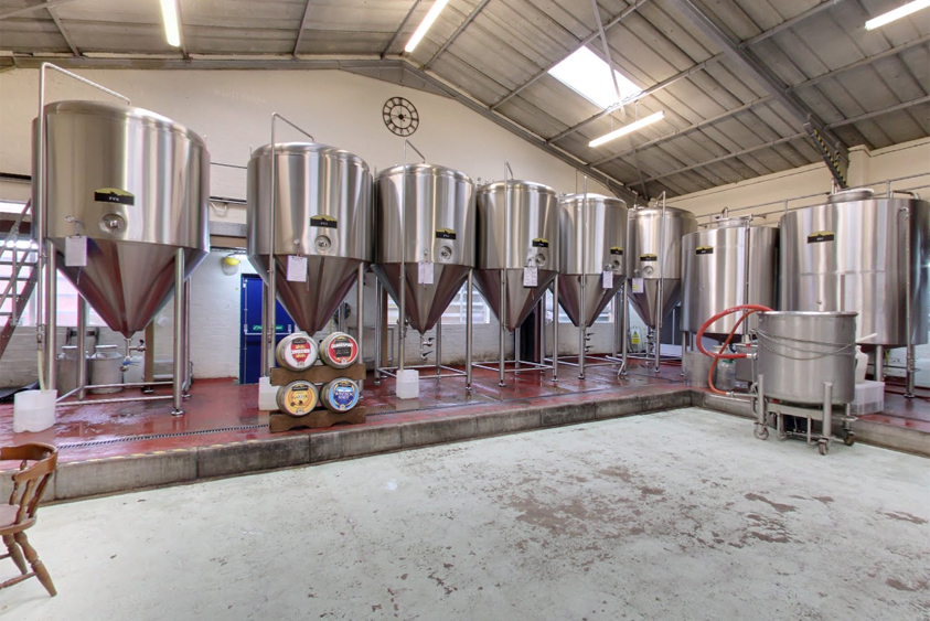 Inside Windsor & Eton Brewery. Picture from Google Maps and added by Bob Stapleton.q
