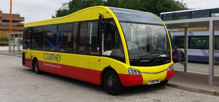 You will be able to jump on the Shuttle Bus at Bracknell Bus Station opposite the Railway Station.